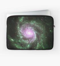 Pinwheel Galaxy [Green Pink] Laptop Sleeve