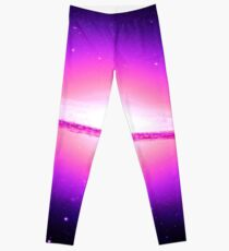 Pink Super Galaxy Leggings
