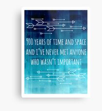 900 Years of Time and Space Metal Print