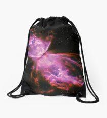 Butterfly Nebula Drawstring Bag