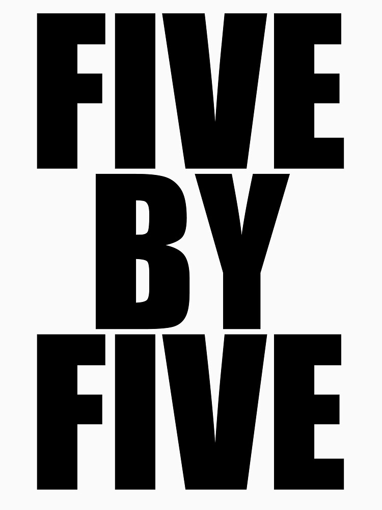 Five by five | Unisex T-Shirt
