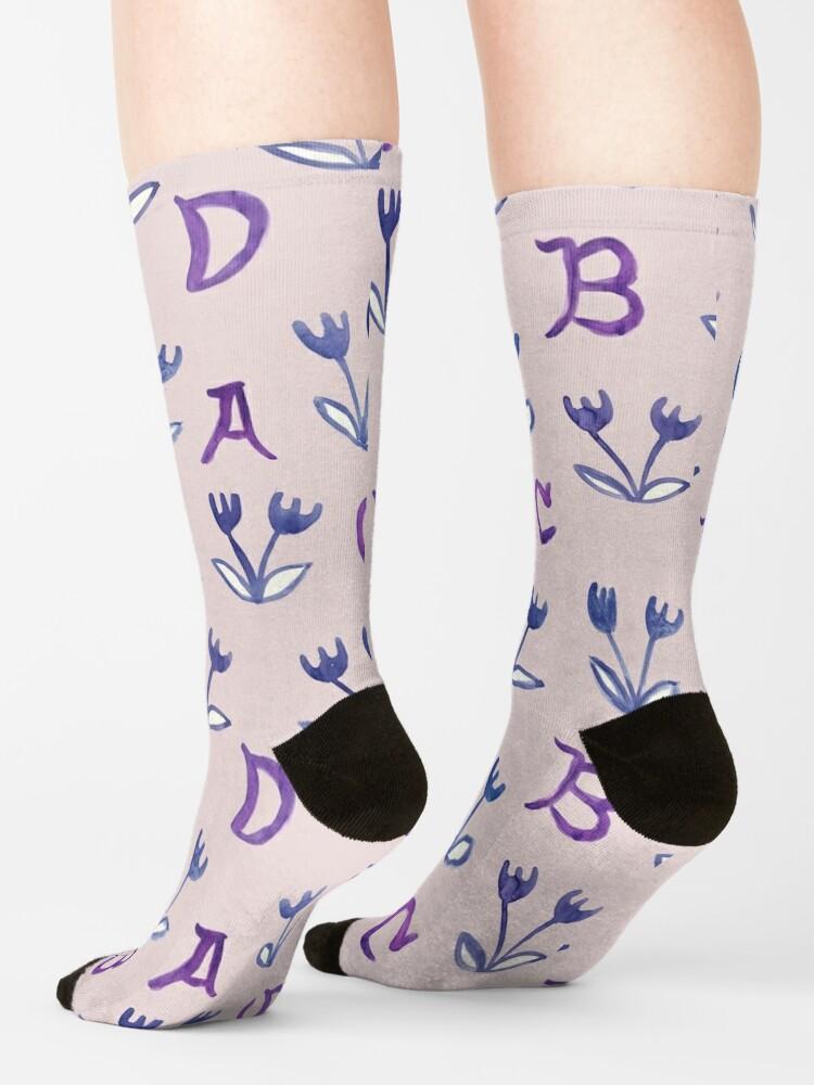 Alternate view of Back To Basics ABCD Socks