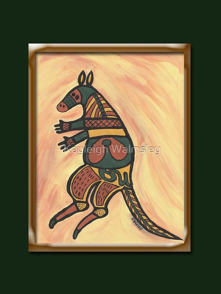 Painted Kangaroo by Kayleigh Walmsley