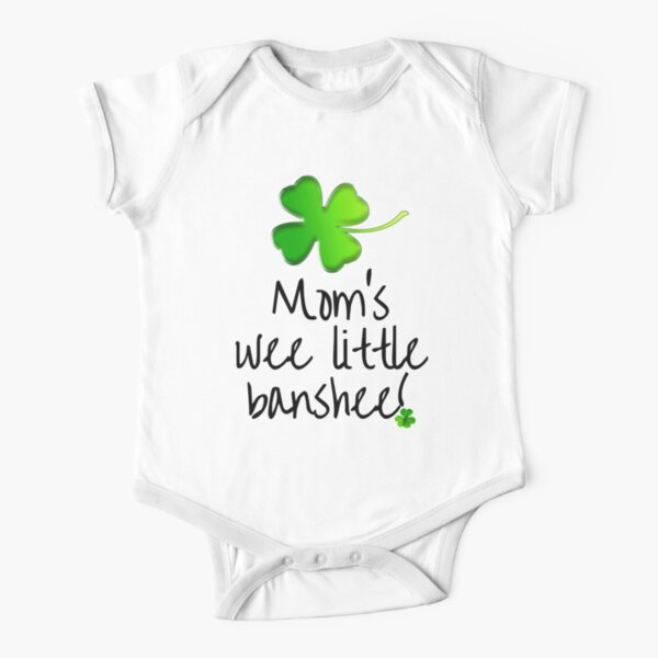 Mom's Wee Little Banshee Short Sleeve Baby One-Piece