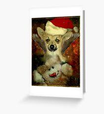 Christmas Angel Bailey Greeting Card