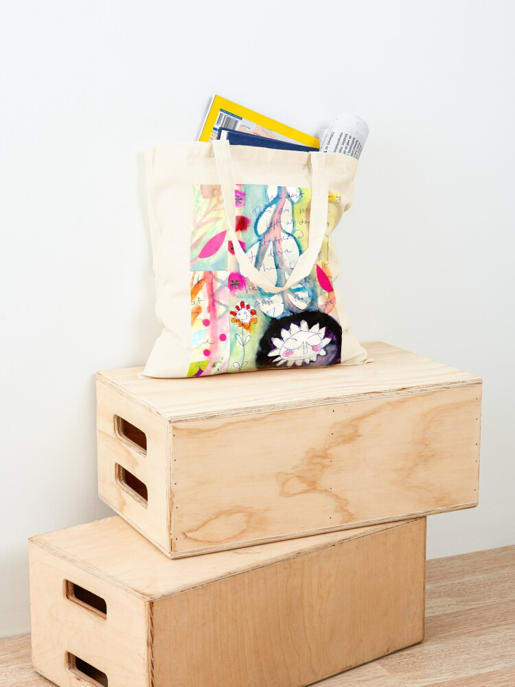 Alternate view of Color Venting Tote Bag