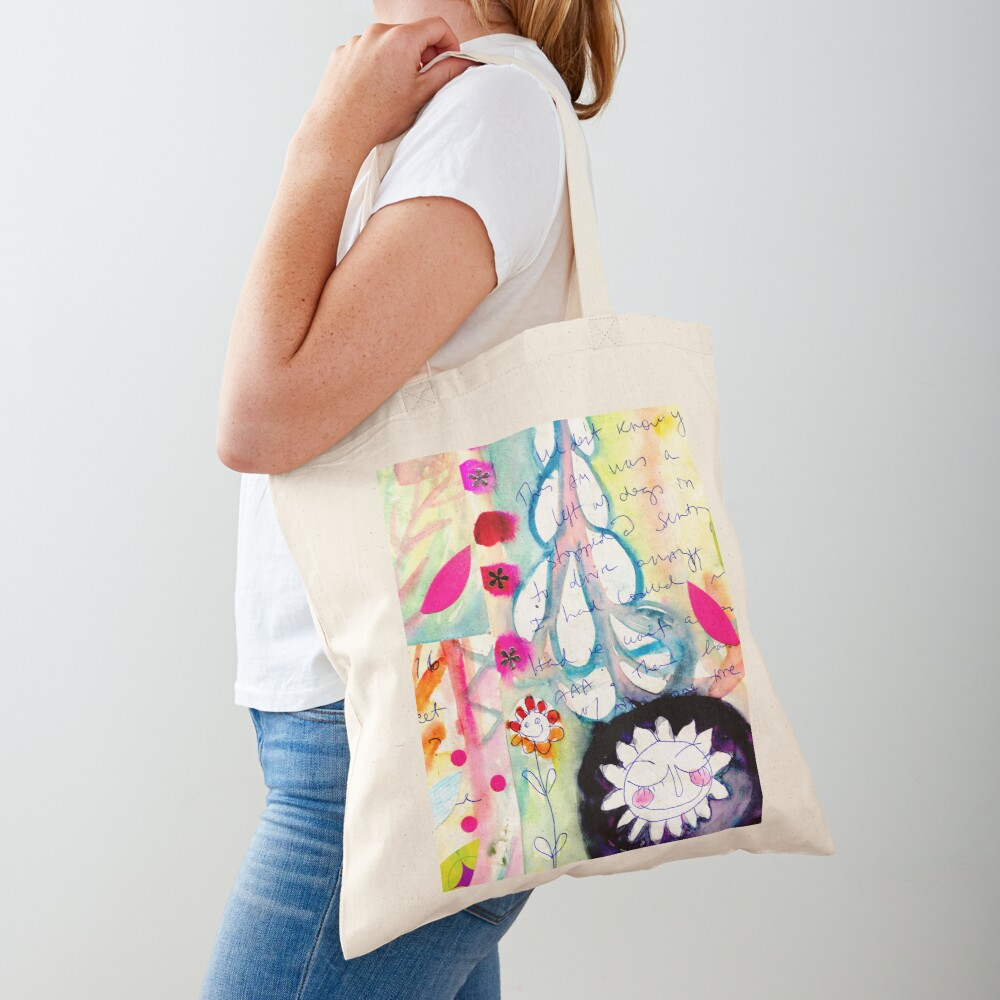Color Venting Tote Bag