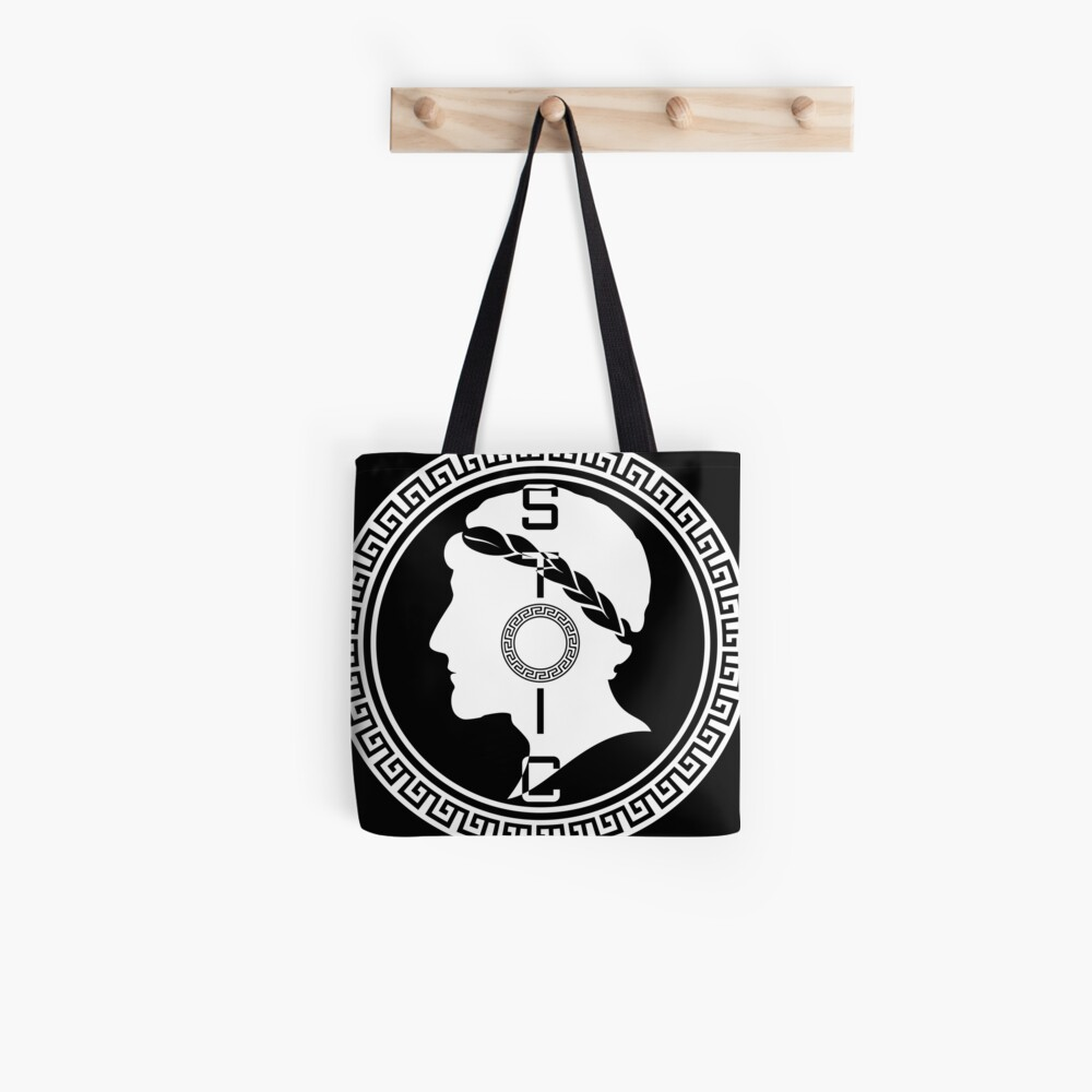 The Stoic - Stoic Emblem - Stay Stoic Tote Bag