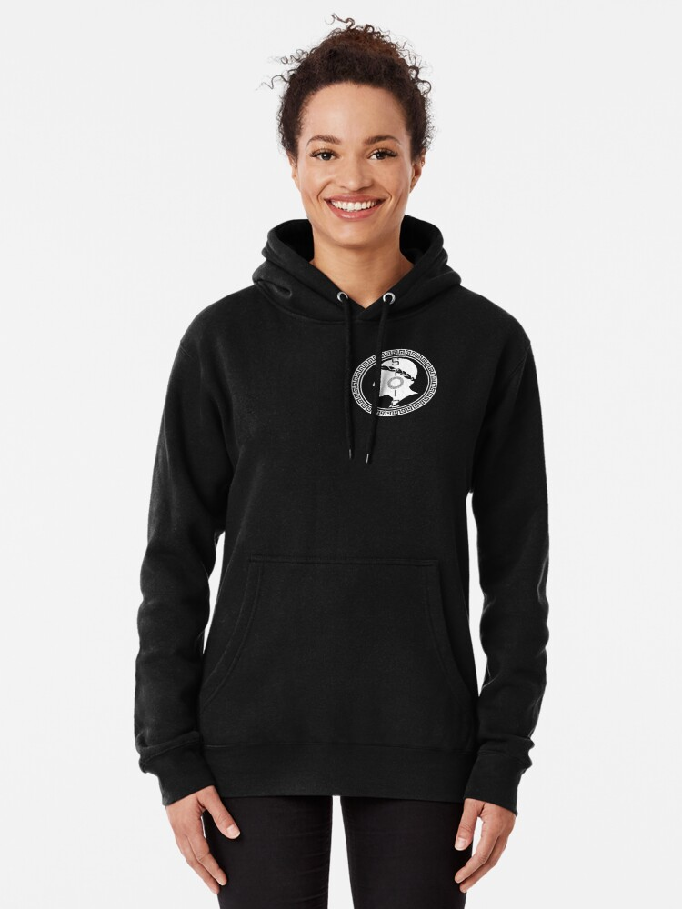 Alternate view of The Stoic - Stoic Emblem - Stay Stoic Pullover Hoodie