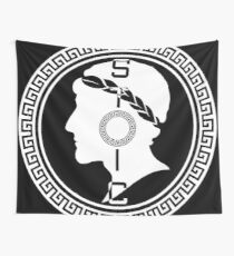 The Stoic - Stoic Emblem - Stay Stoic Wall Tapestry