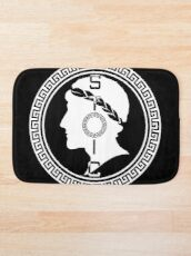 The Stoic - Stoic Emblem - Stay Stoic Bath Mat