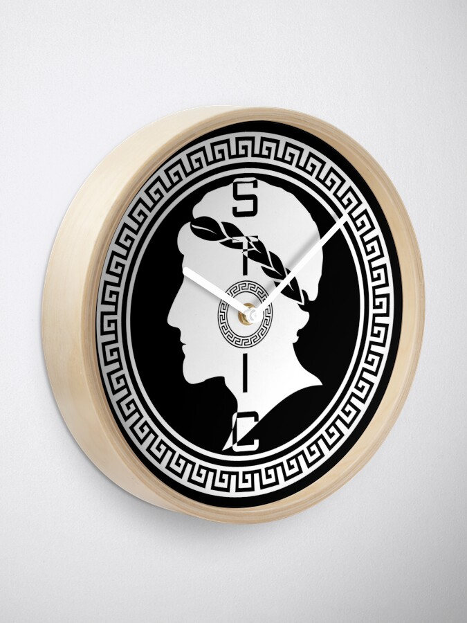 Alternate view of The Stoic - Stoic Emblem - Stay Stoic Clock