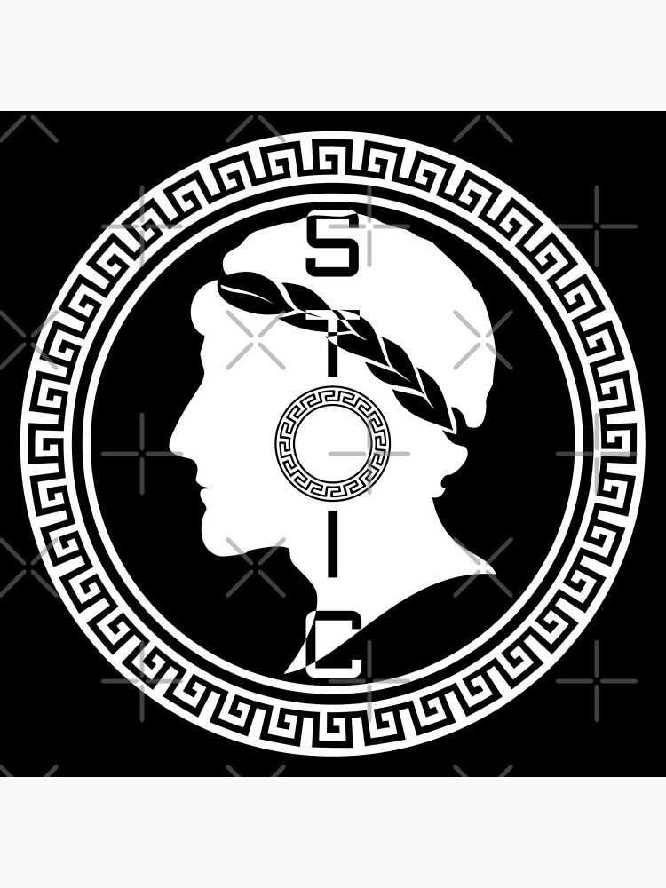 The Stoic - Stoic Emblem - Stay Stoic by StoicMagic