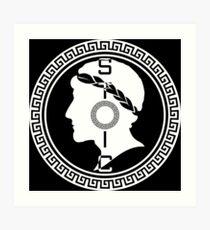 The Stoic - Stoic Emblem - Stay Stoic Art Print