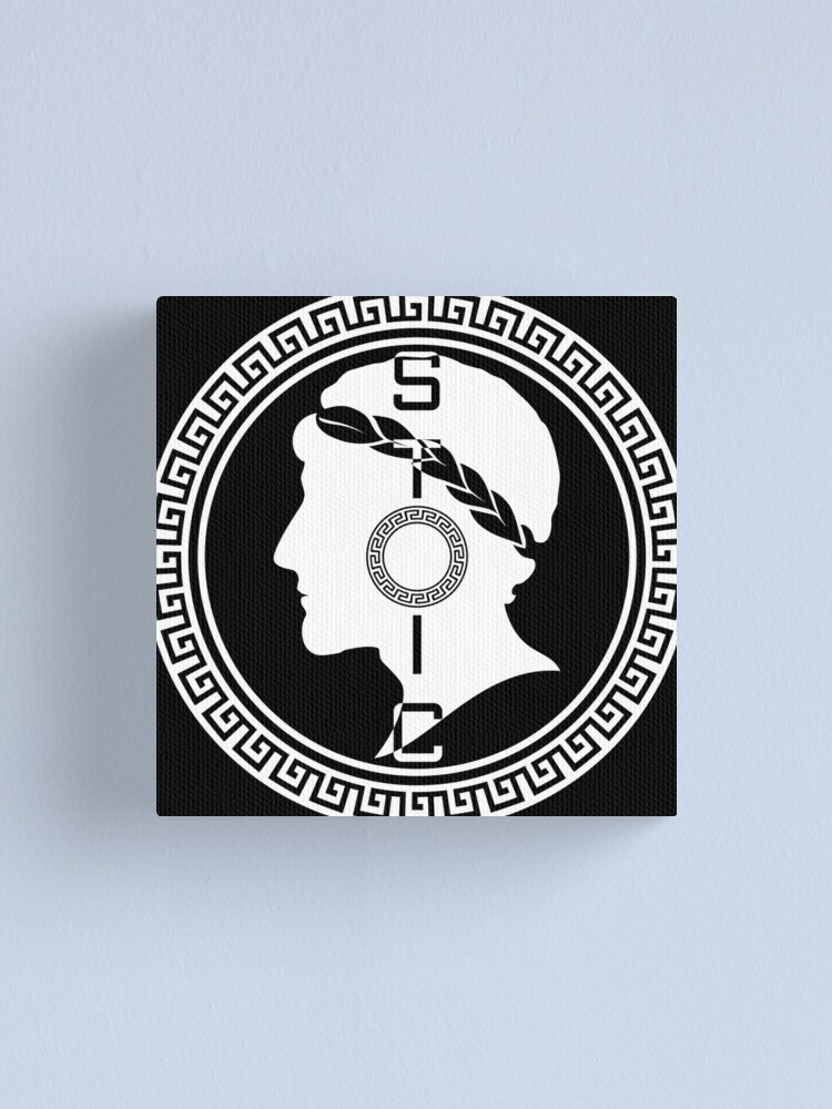 Alternate view of The Stoic - Stoic Emblem - Stay Stoic Canvas Print