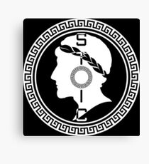 The Stoic - Stoic Emblem - Stay Stoic Canvas Print