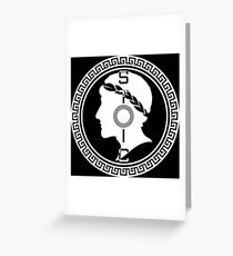 The Stoic - Stoic Emblem - Stay Stoic Greeting Card