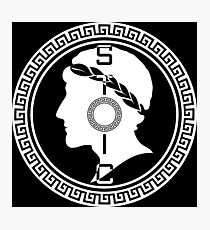 The Stoic - Stoic Emblem - Stay Stoic Photographic Print