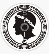 The Stoic - Stoic Emblem - Stay Stoic Sticker