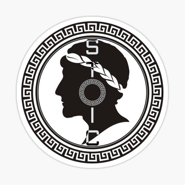 The Stoic Emblem Sticker