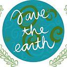 Rette die Erde von quirkyandkind