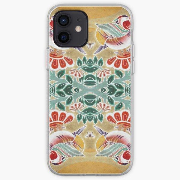 Nihonga Ducks iPhone Soft Case