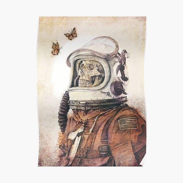 Butterflies in Space Poster