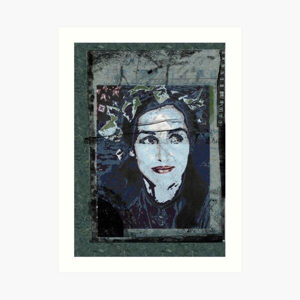 Françoise - a machine for suffering Art Print