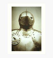 Knight Armour Art Print