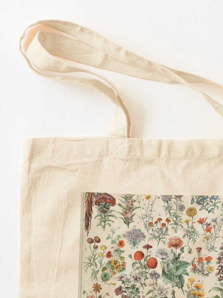 Alternate view of Adolphe Millot fleurs A Tote Bag