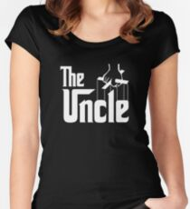 The Uncle T-shirt Godfather Inspired Women's Fitted Scoop T-Shirt