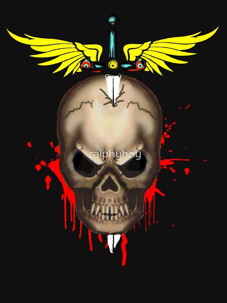 skull t-shirt by ralphyboy