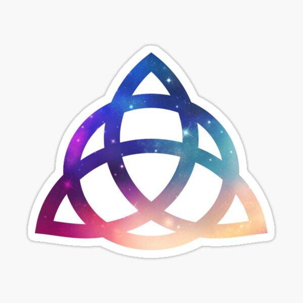 Le pouvoir des trois - charmé. Sticker