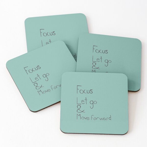 Letting go Coasters (Set of 4)