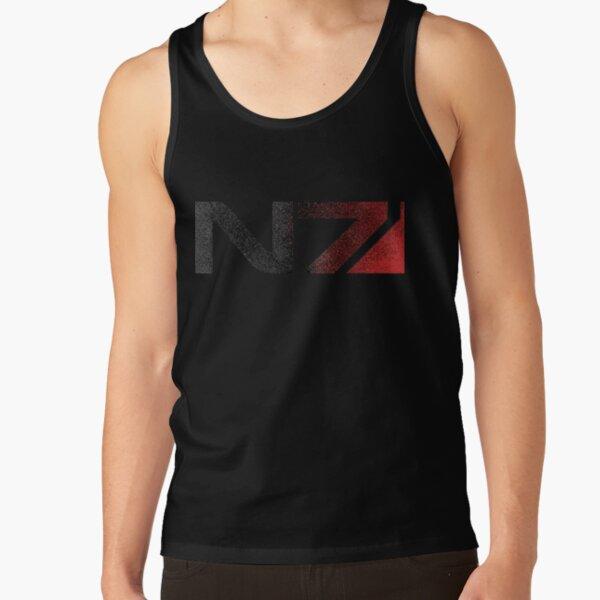 Mass Effect N7 Distressed Logo Tank Top