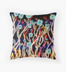 Spring Time Flowers Throw Pillow
