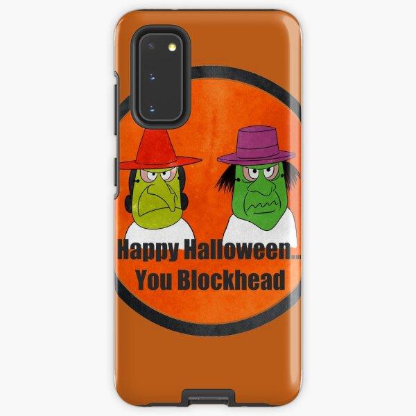 Blockhead Halloween Samsung Galaxy Tough Case