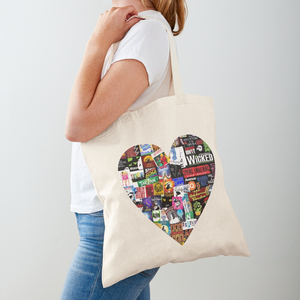 Musicals Collage II Tote Bag