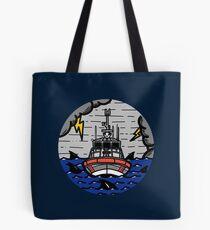 Stormy Seas - Coast Guard 45 RB-M Tote Bag
