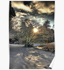 A county Down Winter Scene Poster