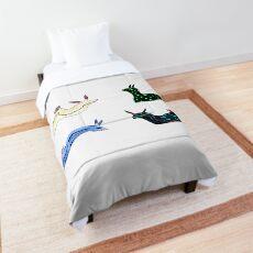 Half of the Nudi-Bunch Comforter