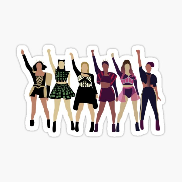 Six the Musical Sticker