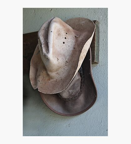 Two Hats Photographic Print