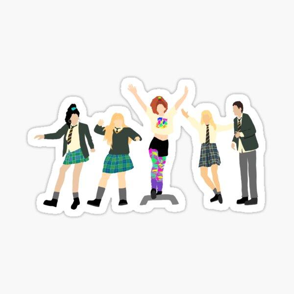 Derry Girls Step Dancing with Orla  Sticker