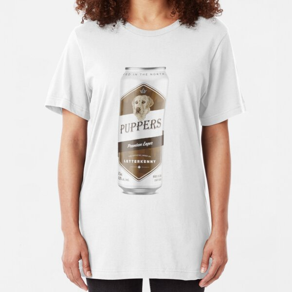 Puppers, Officially Wayne's favourite beer. Slim Fit T-Shirt