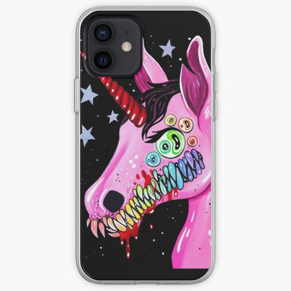 Dark Unicorn iPhone Soft Case