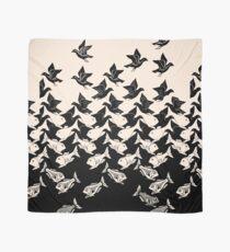 Fisch und Vögel Art Deco Tessellation Tuch