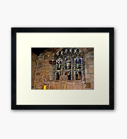 St Olave's York Framed Print