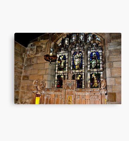 St Olave's York Canvas Print