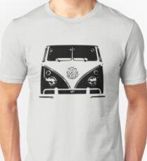 VW Kombi Black design Unisex T-Shirt